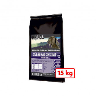 Black Canyon Seasonal Special krůta a jelen 15 Kg