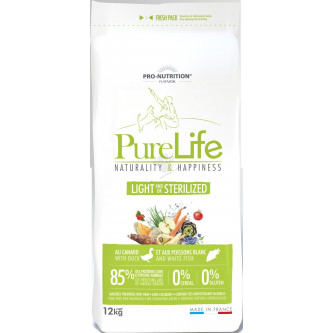 Flatazor PURE LIFE light sterilized (super-premium), 12kg