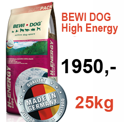 Bewi Dog High Energy - 25kg